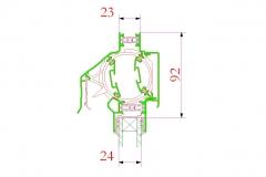 MULTIAIR EPC - technický nákres